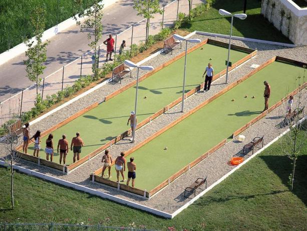 Impianti sportivi nel Villaggio di Lusso in Puglia