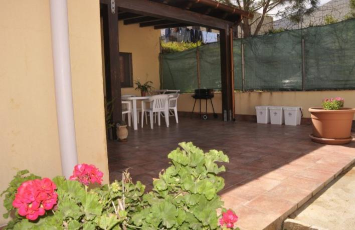 Casa vacanza in affitto San-Vito-lo-Capo vicino mare