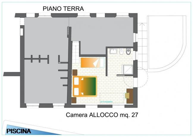 ALLOCCO - Pianta
