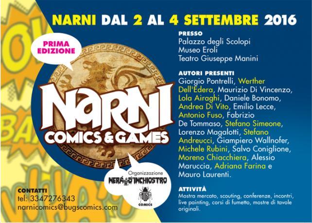 Narni 1-2-3 Settembre - NARNI COMICS & GAMES