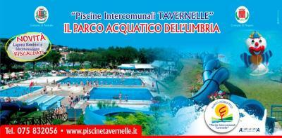 parco acquatico piscine e scivoli a 3 km