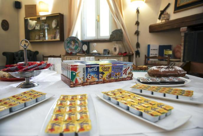Colazione vicino Assisi: Marmellate e Dolci