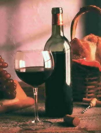 Red Italian Wine