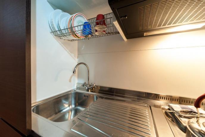 Cucina appartamento Roma centro