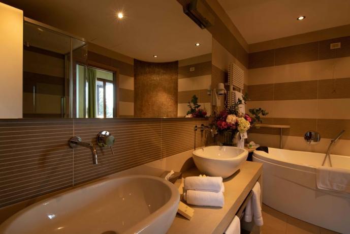 Bagno Privato in Suite Villa vicino Milano