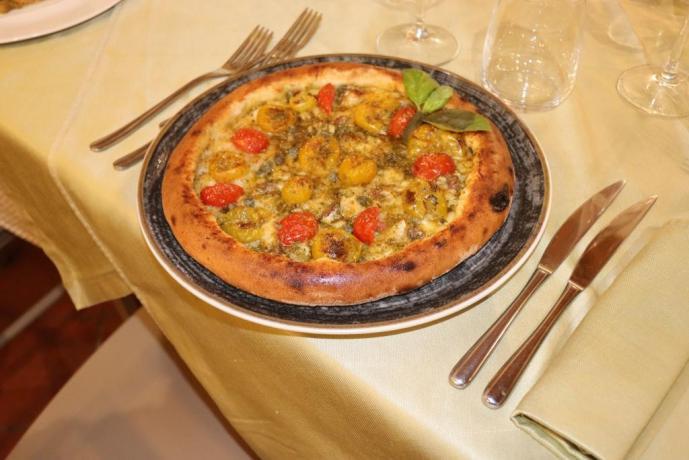 Pizza per celiaci ristorante agriturismo Trapani