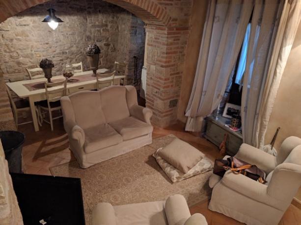 Casale Monte Castello di Vibio Salotto