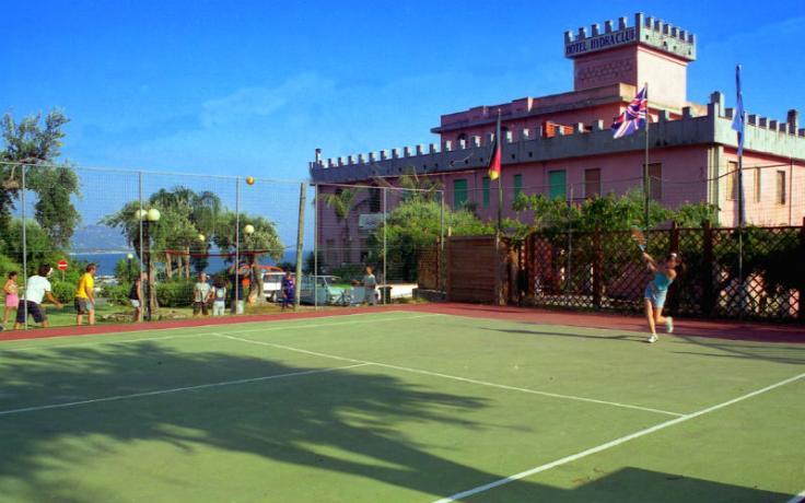 Hotel Castello sul Mare CasalVelino campo-tennis