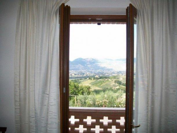 Appartamento Montefalco con 2 camere da letto