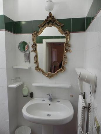 Bagno privato in camera B&B Castiglione del Lago