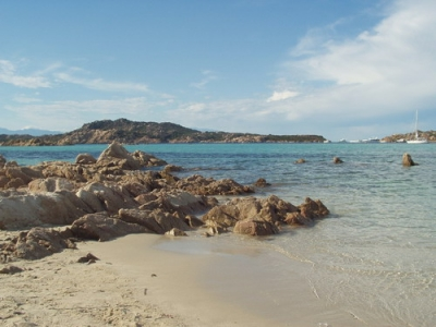 Budelli-island in Sardinia