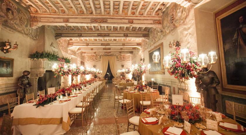 Sala ricevimenti del castello ideale per cerimonie