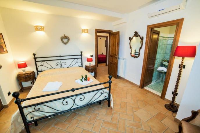 Appartamento Rosso camera con Bagno privato