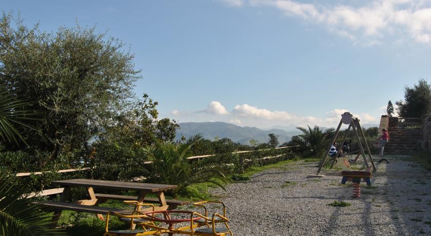 Giardino nell'Agriturismo a Messina a Santa Margherita