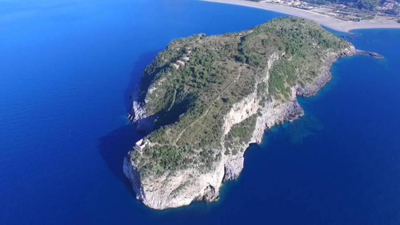 Relais Cirella ideale Escursioni Isola di Dino