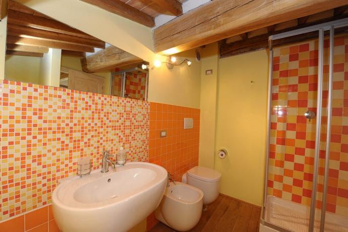 Villa a Perugia con ampio bagno doccia