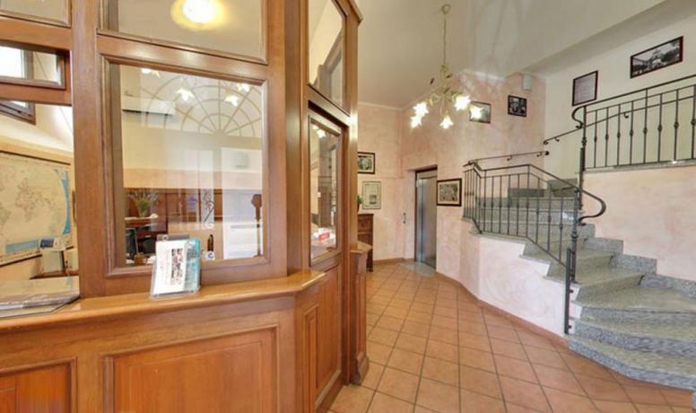 Reception residence con appartamenti a Ronciglione