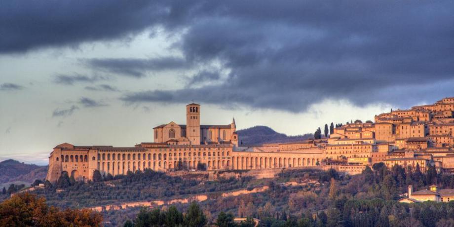 Agriturismo ideale per visitare Perugia e Assisi