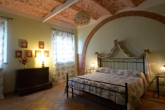 Camera il Giaggiolo per 4persone a Castiglione-del-Lago