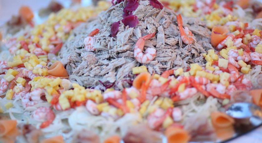 Piatti mediterranei prodotti biologici