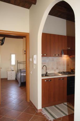 Bilocale 3 persone residence vicino Lago Vico