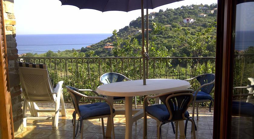 Affitto villa vacanza, Costiera Cilentina: Terrazza con Vista