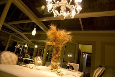 Il raffinato ristorante del resort