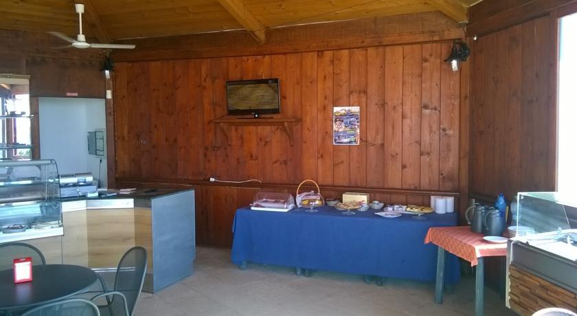 sala Colazione dell'Hotel Le Felloniche
