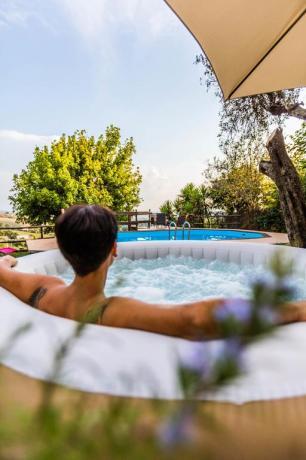 Casa vacanza: piscina ed Idromassaggio Montebuono-Rieti