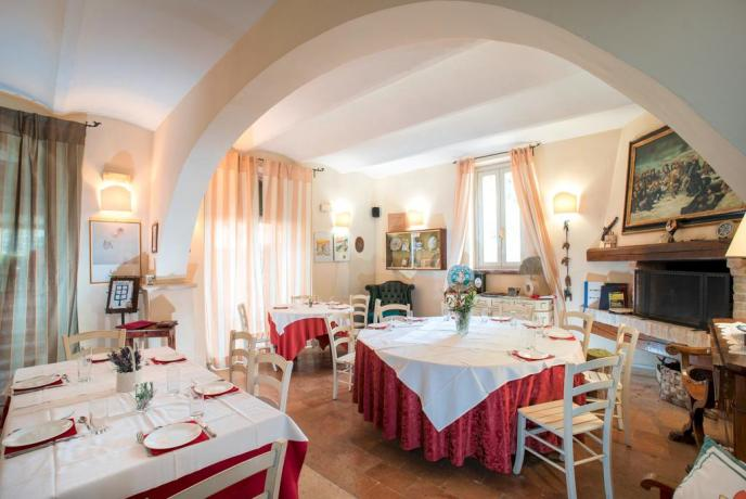 Ristorante in Umbria al Country House Assisana