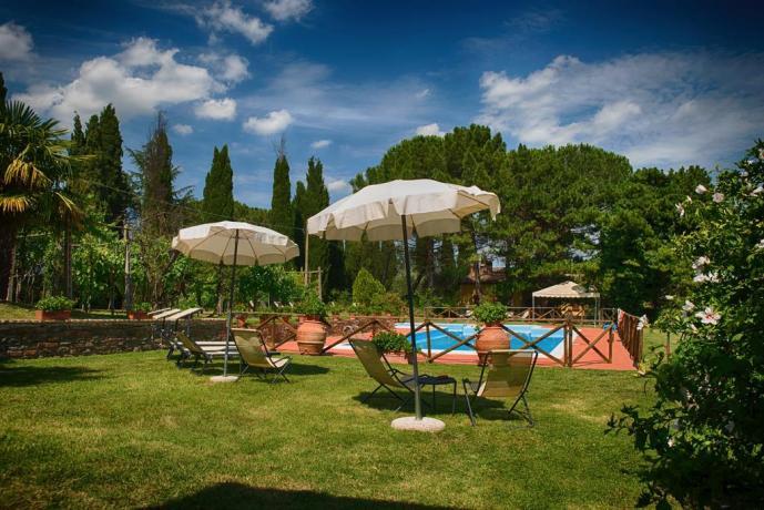 Intero casale 8 persone in Umbria con Piscina