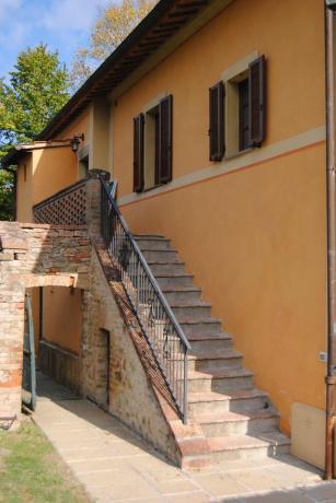 Casale Ortensia veduta esterna