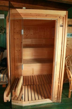 Sauna esclusiva fino alle 24:00
