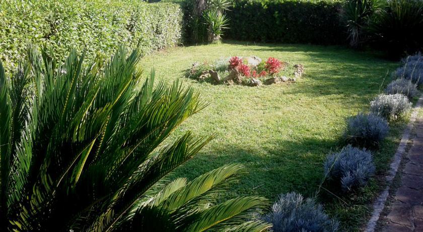 giardini alla villa vacanze vicino a roma