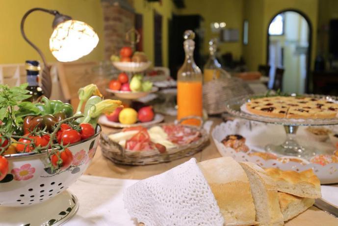 Colazione dolce e salata a Montecarlo