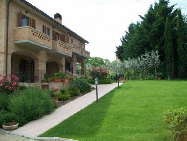 Appartamenti balcone con vista vicino Perugia