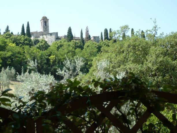 Veduta paese di Montecchio in Umbria