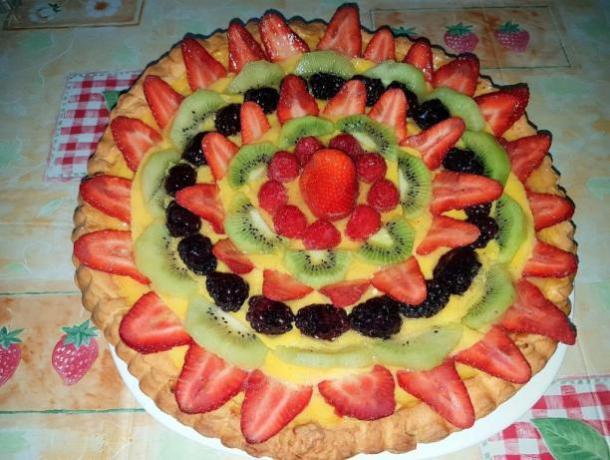 Agriturismo vicino Roma- torta di frutta fresca