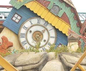 Amusementpark, land of the giants