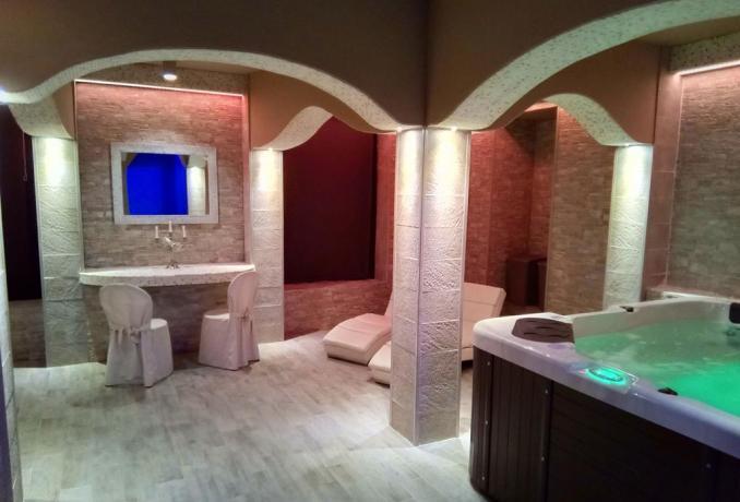 Idromassaggio, Sauna ,Bagno Turco romantico Resort Arezzo