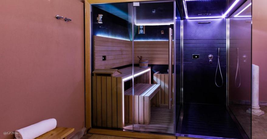 Resort con centro benessere Sauna Finlandese