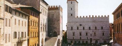 Vista panoramica di Todi