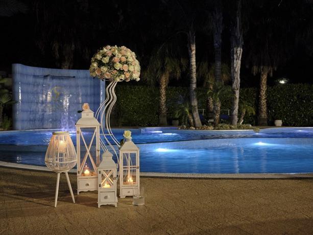 Hotel 4stelle a Battiglia con piscina per matrimoni