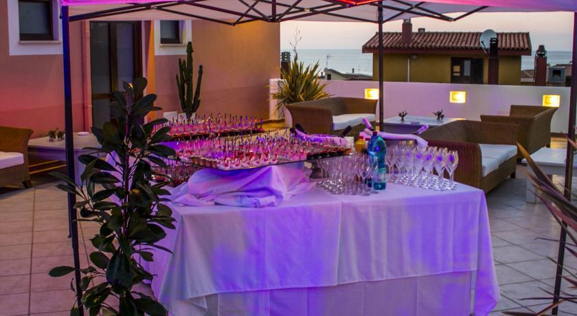 Aperitivo Terrazzo Vista Mare Hotel Castelsardo