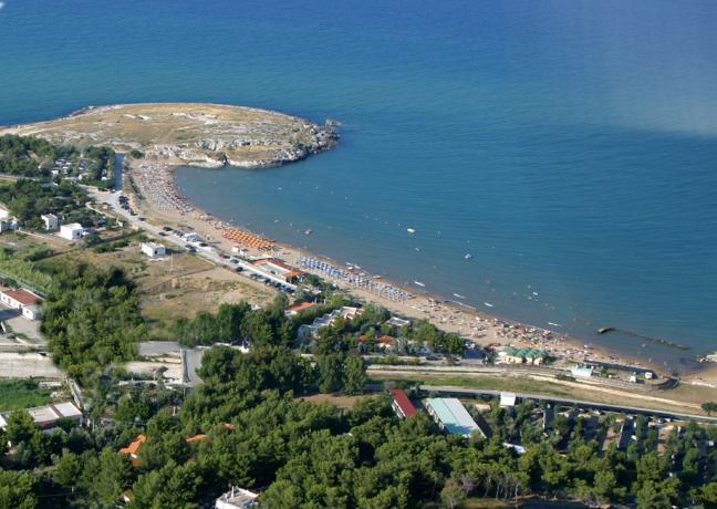 Villaggio vicino Spiagge del Gargano