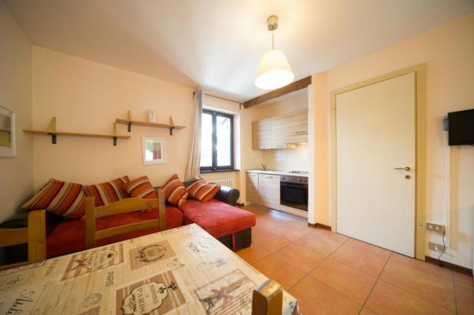 Appartamenti-vacanze monolocali 3persone cucina completa Bardonecchia