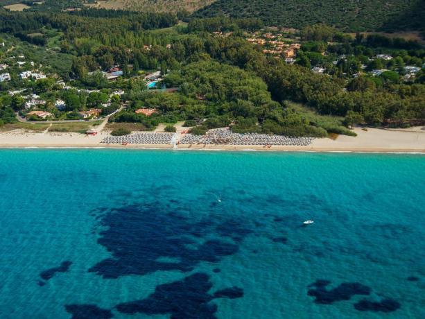Villaggio con Piscina Animazione SPA Spiaggia Sabbia CALASERENA