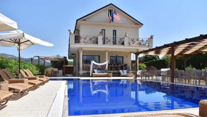 piscina Solarim HOtel 4 stelle ascea Cilento