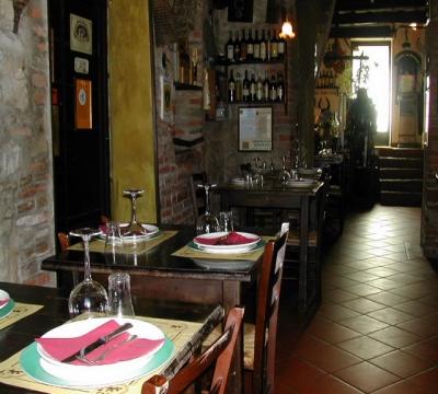 ristorante rustico