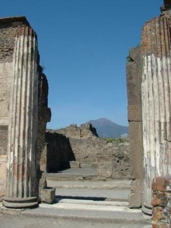 Pompei and Vesuvio
